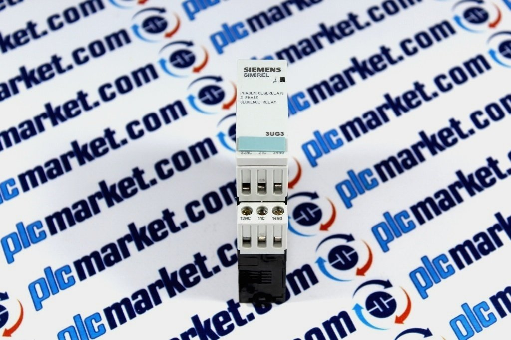 Siemens SIMIREL 3UG3511-1AQ50  Phase Sequenceand Relay
